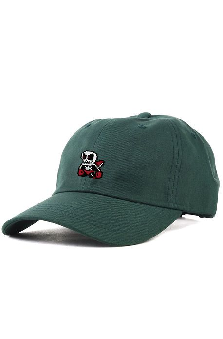 The Demonhead Dad Hat in Spruce