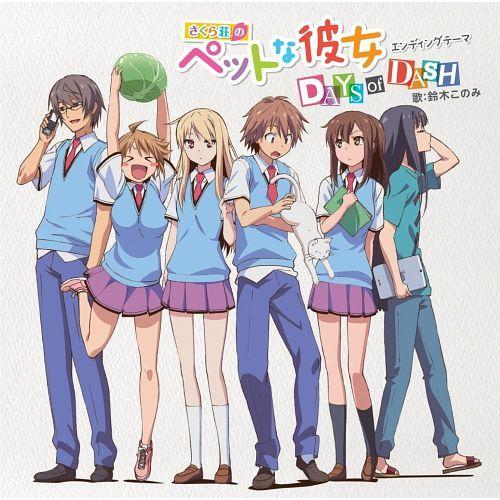 Sakurasou No Pet Na Kanojo Ed Single Days Of Dash Anime Life Anime Pets