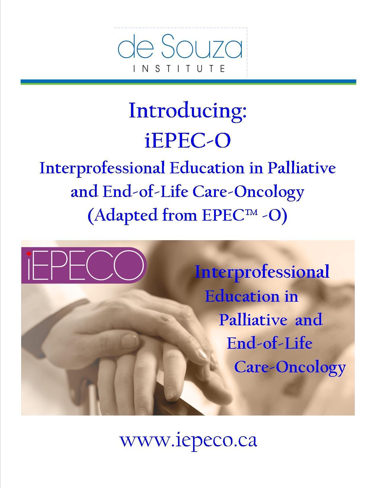 Introducing a NEW Online de Souza Institute course iEPEC