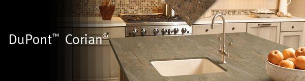 Corian Kitchen Countertop Installed