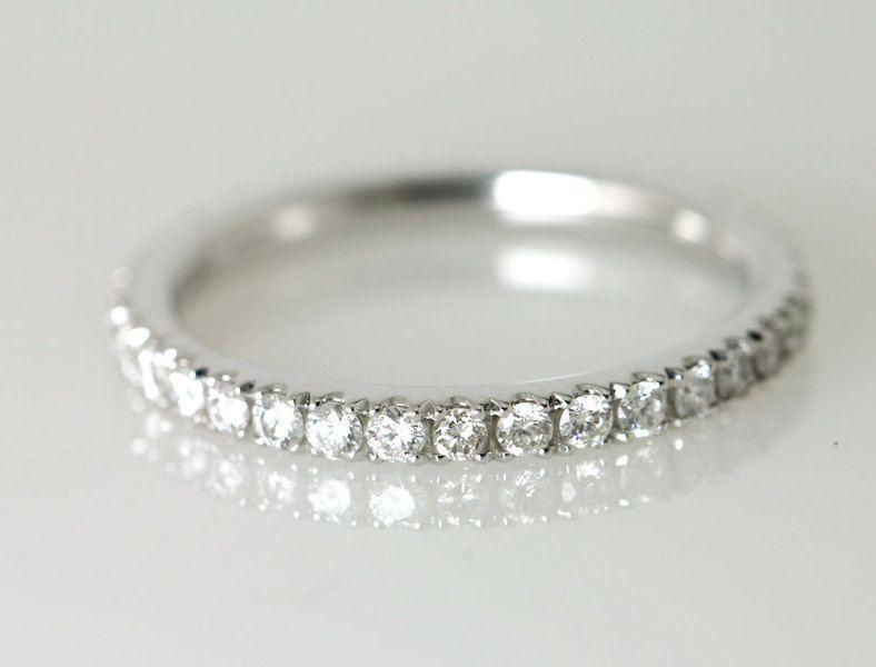 Diamantringe weißgold  Beisteckring Memoiren-Ring Diamantring Weißgold von SCHMUCKGARTEN ...