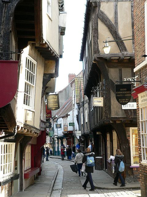 The Shambles in York - this photo brings back so many memories.Tony and I visited here in 1987.