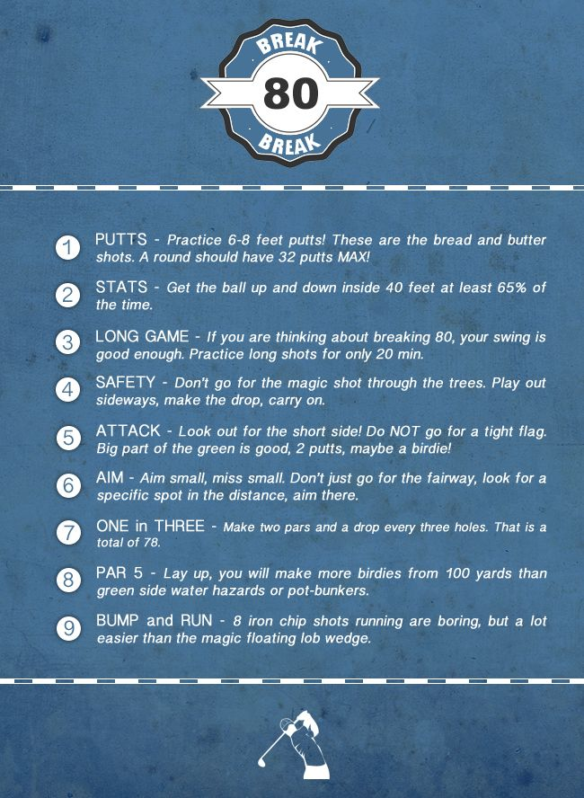 14+ Aim small miss small golf viral