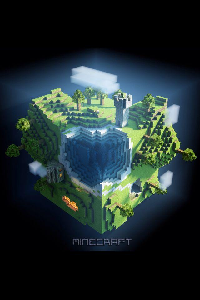 Coolest Minecraft Wallpaper Ive Seen
