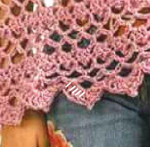 Cómo tejer chal crochet paso a paso