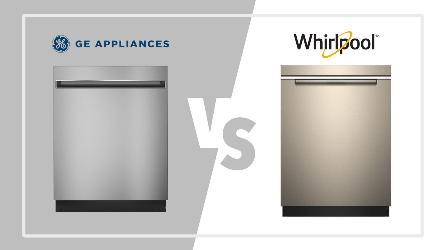 Ge Vs Whirlpool Dishwashers What To Consider When Purchasing A New Dishwasher Steel Tub Best Dishwasher Ge Dishwasher