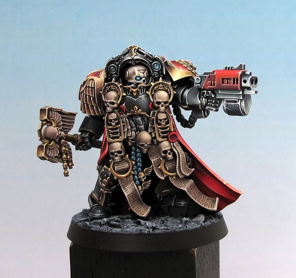 The best chaplain miniature, and it's so very hard to get
