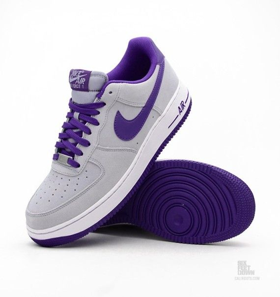 c510945269373 Nike Air Force 1 Low - Magnet Grey - Dark Concord - SneakerNews.com ...