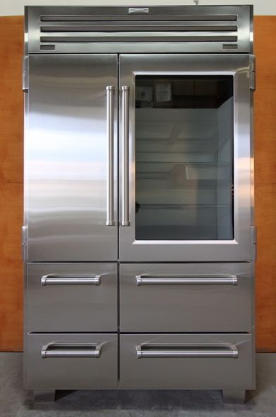 My dream kitchen would have this refrigerator for the home sub zero pro 48 glass door refrigerators planetlyrics Images