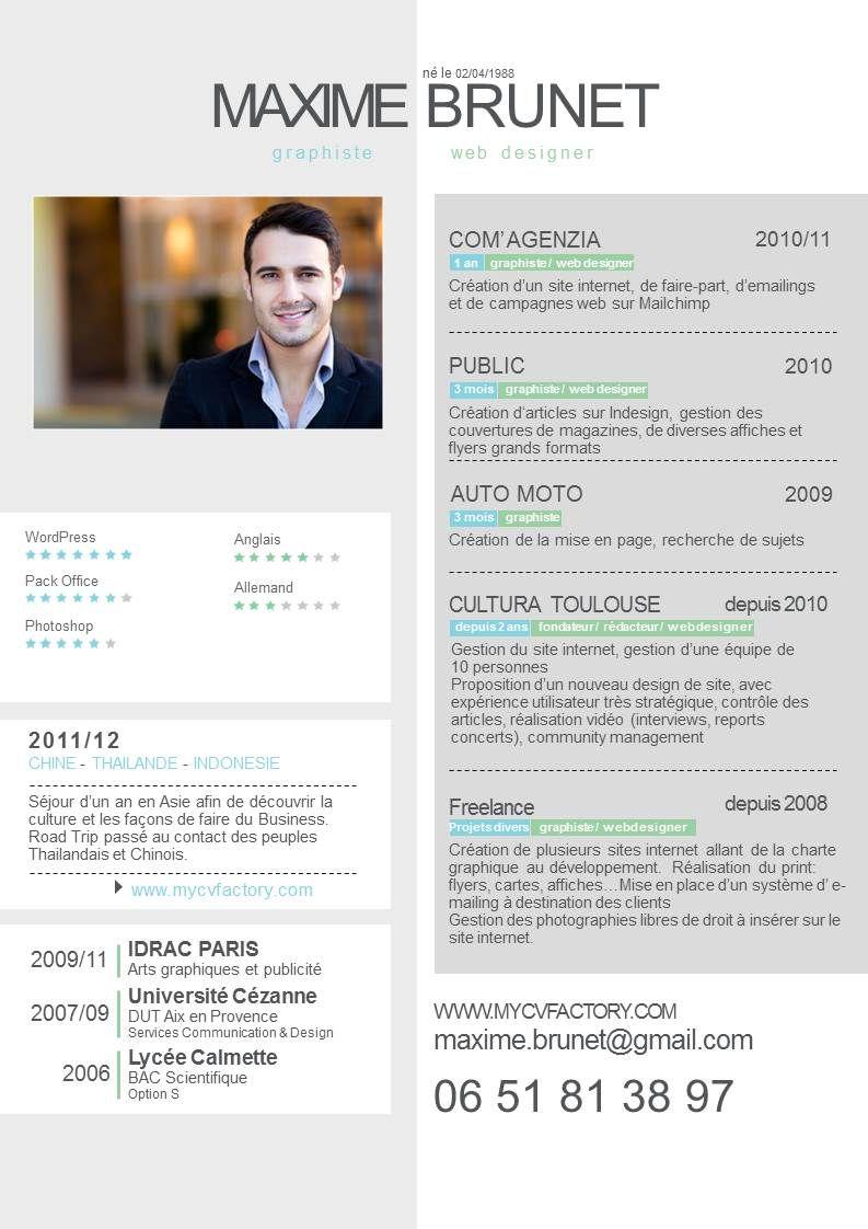 Cv Originaux Design Exemple De Lettre De Motivation Lettre De Motivation Modele De Cv Design