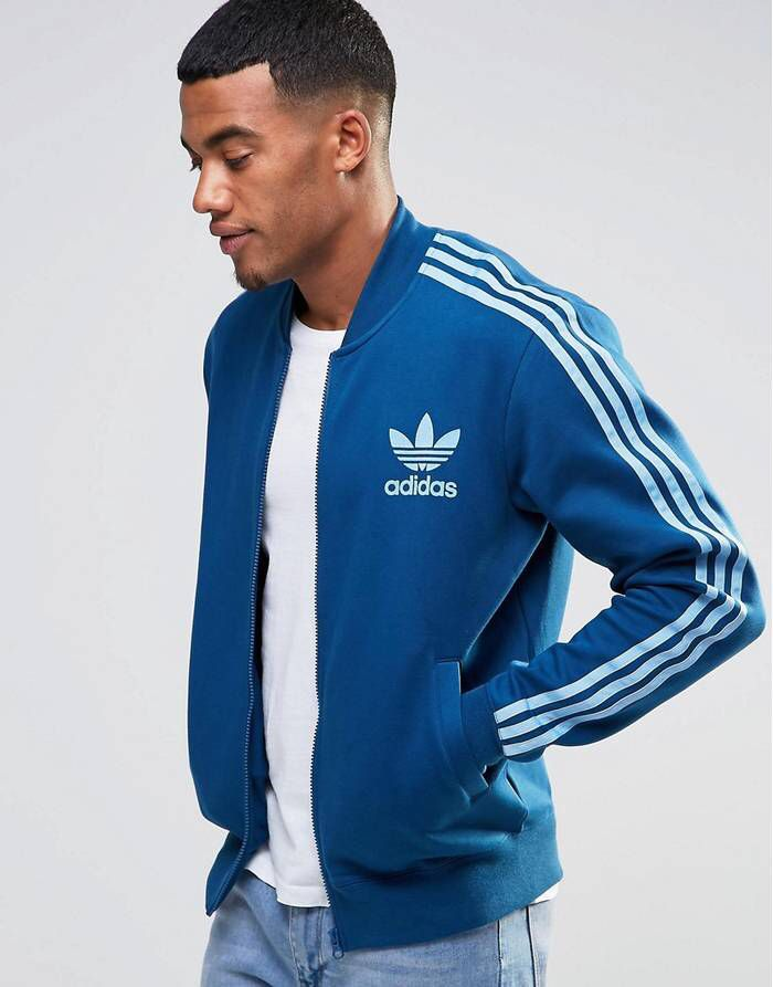 adidas Essentials Colourblock Veste de survêtement zippée