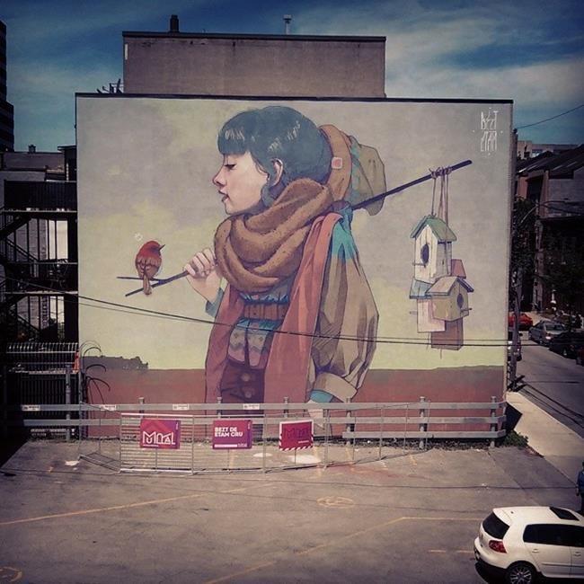 Sainer Ve Bezt In Olusturdugu Ekip Etam Cru Dan Muhtesem Duvar Boyama Ornekleri Artdesigntv Sokak Sanati Graffiti Sanat Ve Sokak Sanati