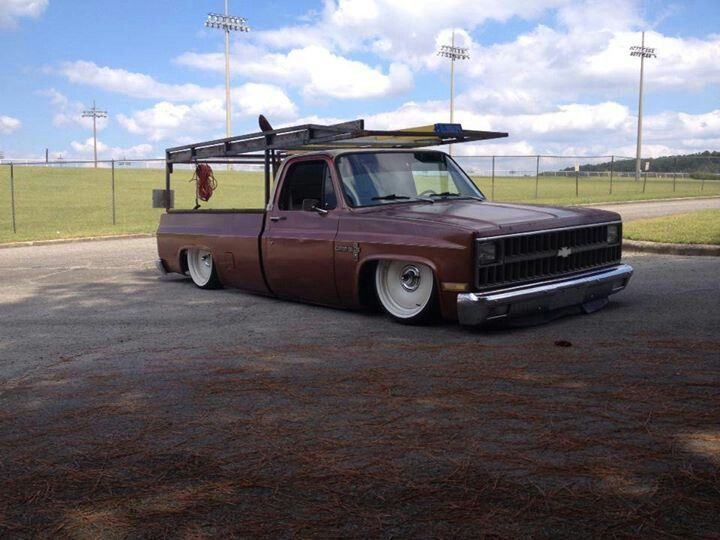 Squarebody C10 Work Truck Trucks Lowered Trucks Work Truck