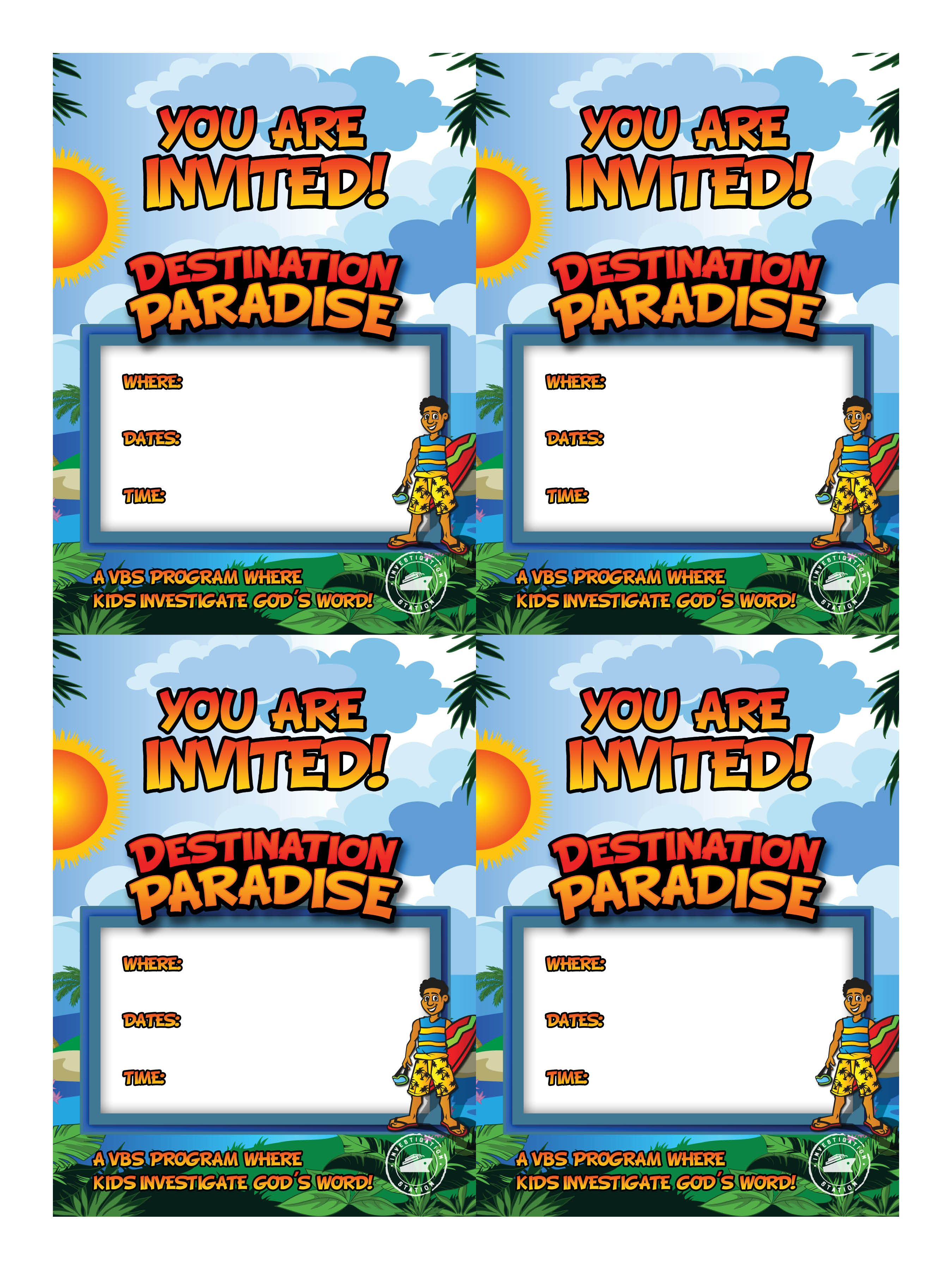 letter to mom vbs invitation postcards four up vbs 2015 1443