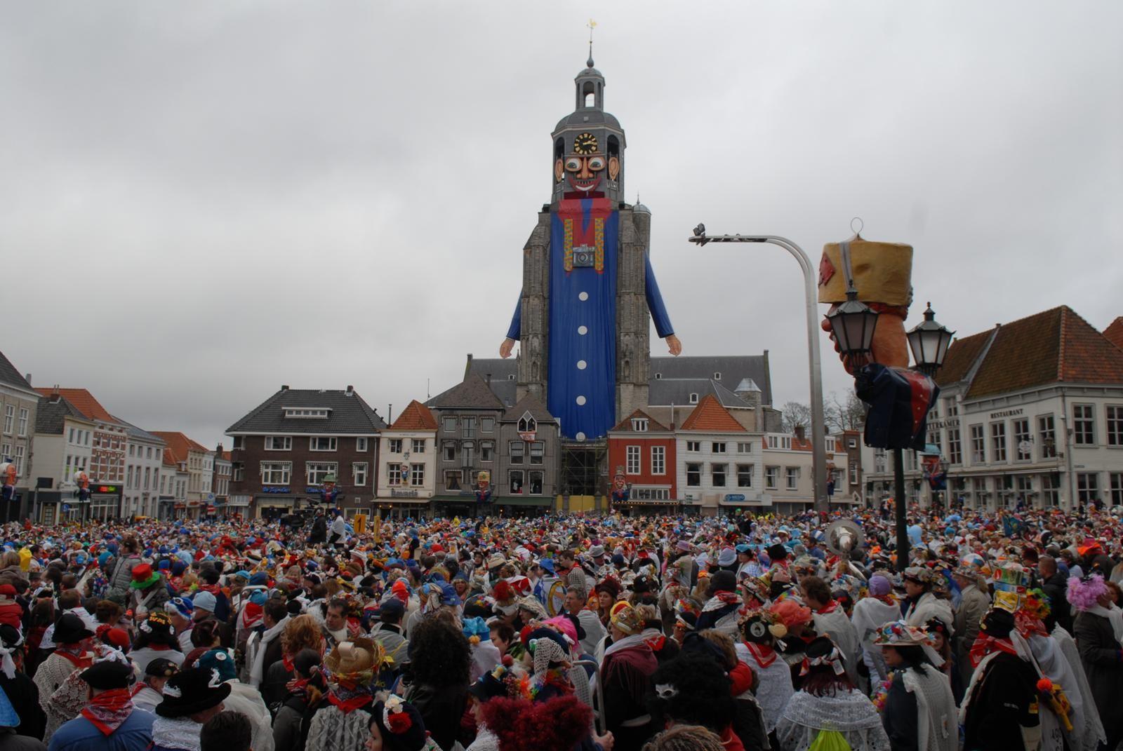 Peperbus Grote Markt Bergen Op Zoom Bergen Stad