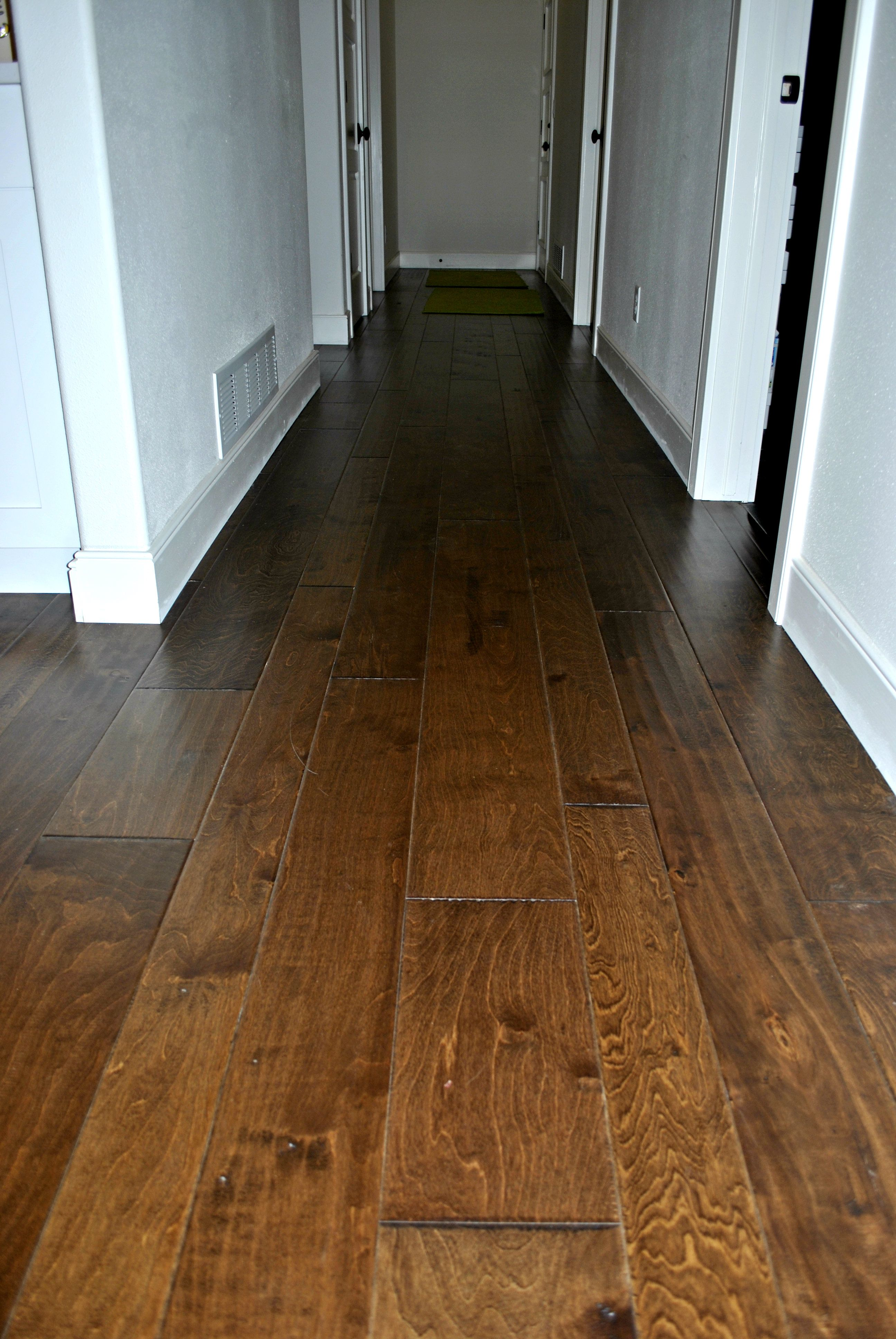 Check Out This Wood Floor It Is A Great Medium Tone With Waves Of