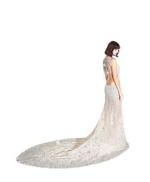 Harrods crystal gown