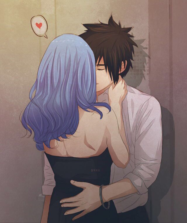Gruvia Make Out Session Fairy Tail Love Fairy Tail Gruvia