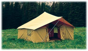 Montana Canvas Spike III Spike Tent & Montana Canvas Spike III Spike Tent | Cozy Places u0026 Spaces ...