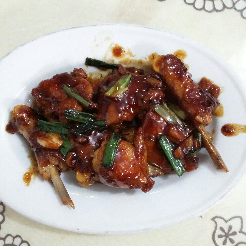 Ayam Goreng Saus Inggris Ayam Goreng Saus Kue Mangkok