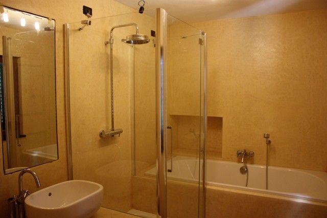 Bagno Tadelakt ~ Foto di bagno in stile in stile mediterraneo bagno stile tadelakt