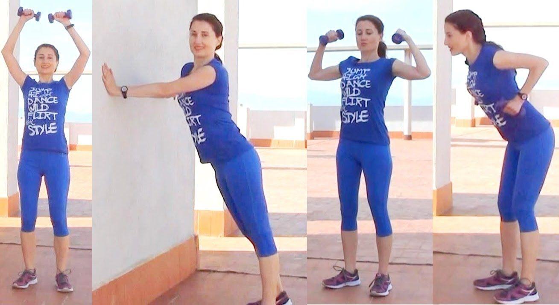 ejercicios para brazos espalda y pecho