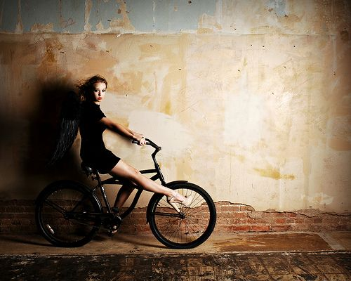 Escape Black Bicycle Bicycle Bicycle Girl Bicycle wallpapers images photos