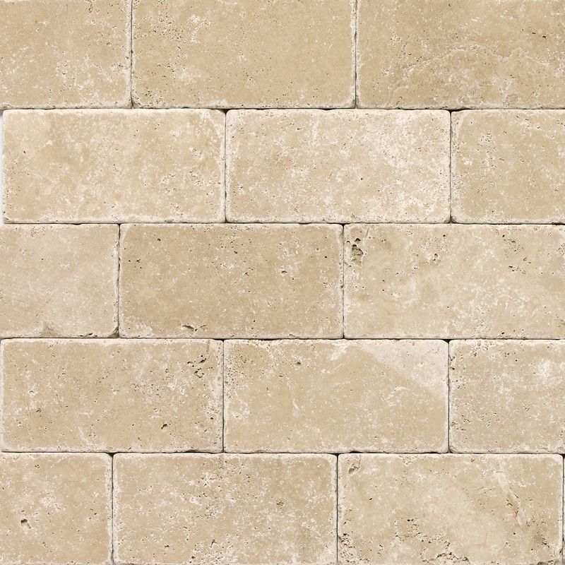 Tumbled Travertine - 3x6 Ivory Sale $3.97 sq.ft | Tile stores ...