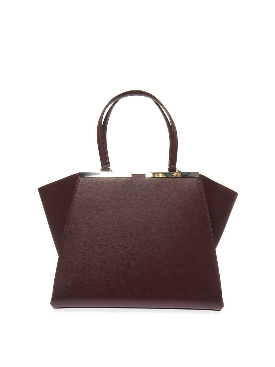 my favourite bags from the  matchesfashion  sale  fendi  3jours  trapeze  tote at 30% off.  bagporn f18df40280302
