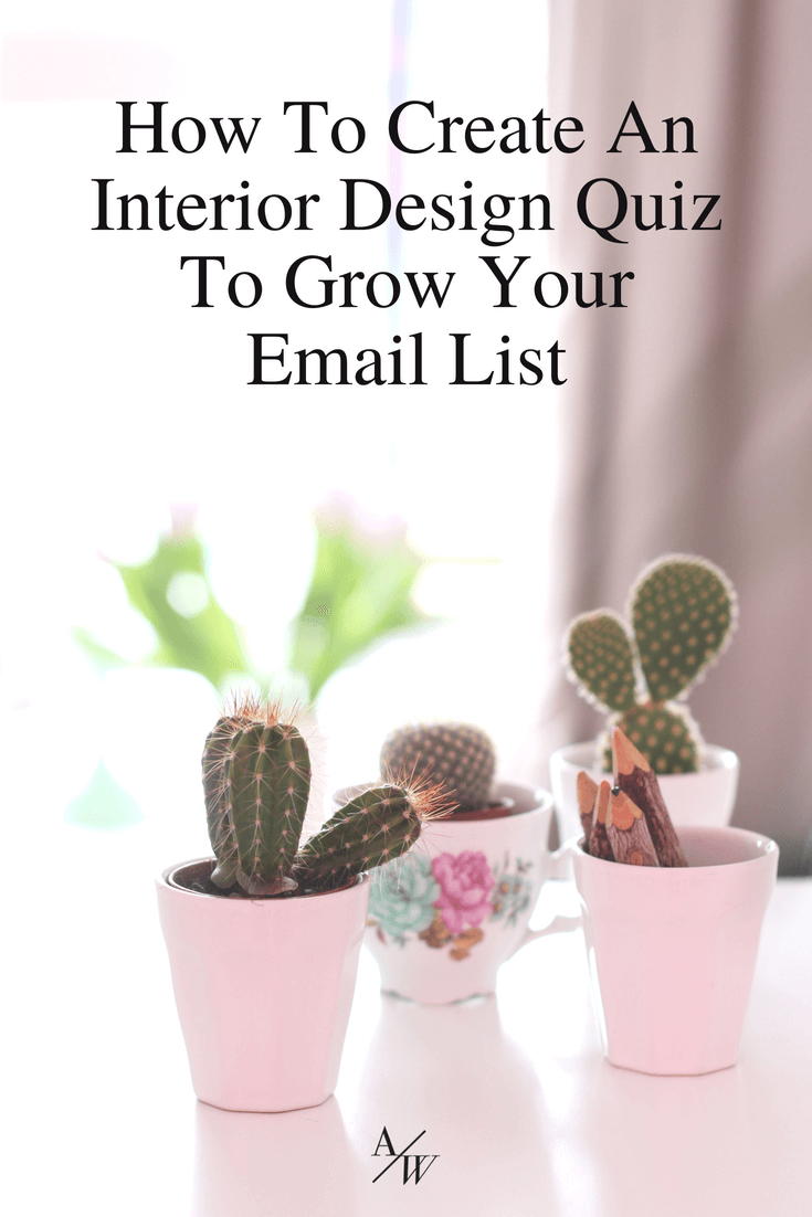 How to create an interior design style quiz for your website also grow email list rh pinterest