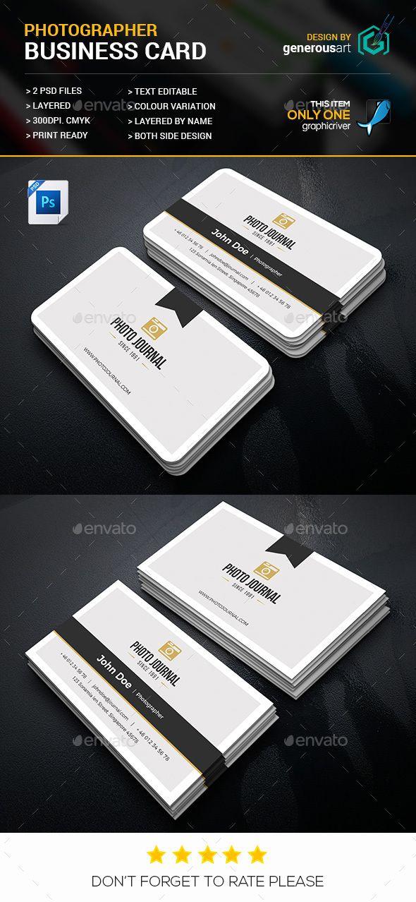 Photographer Business Card Photographer Business Card Template Photographer Business Cards Photography Business Cards