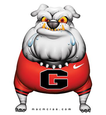 ga bulldog clipart uga bulldog cartoon english bulldog rh pinterest com georgia bulldog clipart black and white georgia bulldog clip art free
