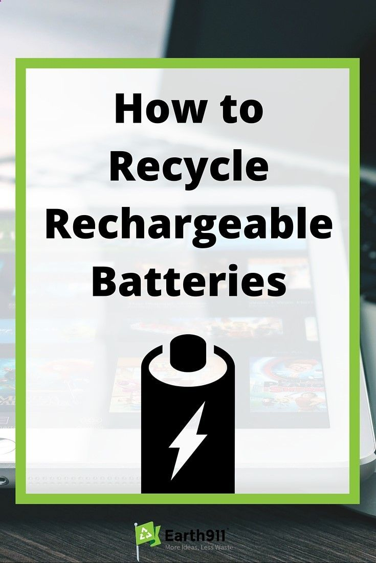 Battery Reconditioning - Looking to recycle an old laptop battery ...
