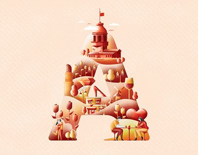 """Check out new work on my @Behance portfolio: """"Letter Illustrations.."""" http://be.net/gallery/53633675/Letter-Illustrations"""