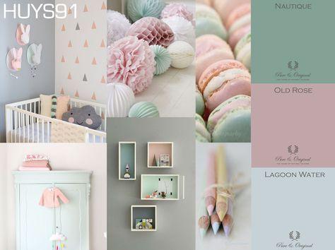 Poster Babykamer Pastel : Blog pure & original: de babykamer! huys91 baby room pinterest