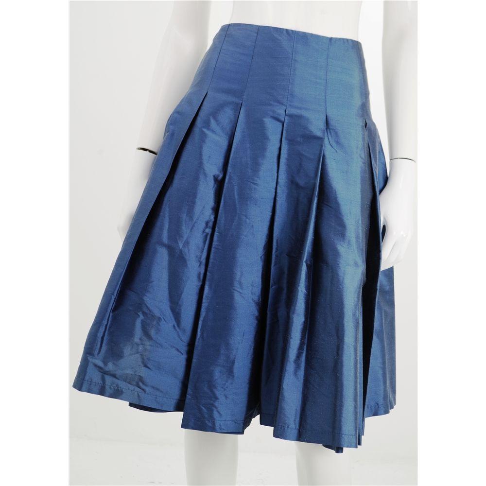 Bnwt Toast Size 12 Petrol Blue Raw Silk Skirt Oxfam Gb Oxfam S Online Shop Skirts Silk Skirt Petrol Blue
