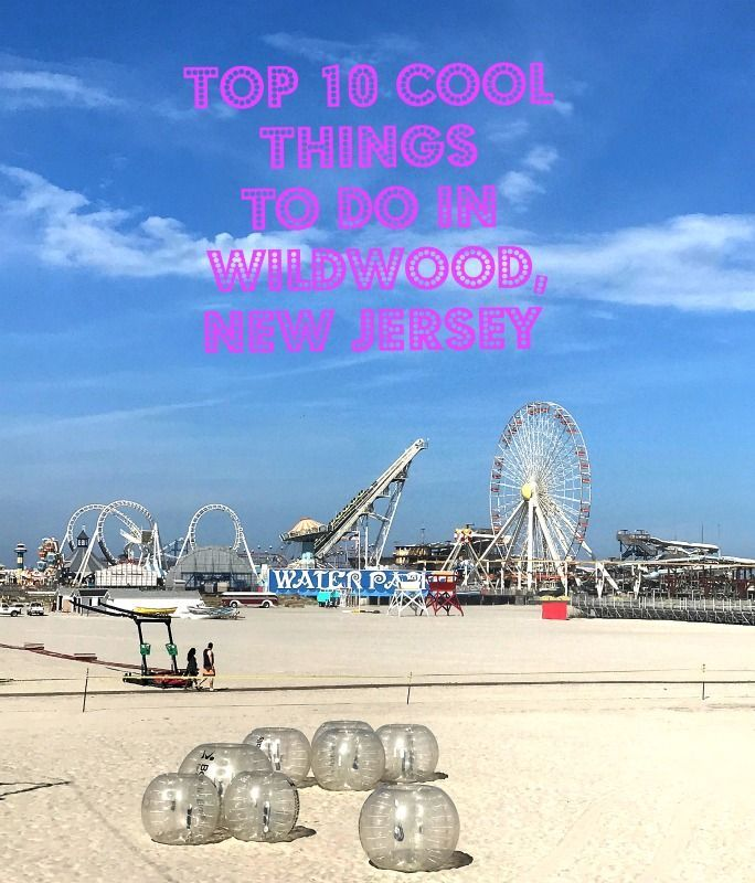 top 10 cool things to do in wildwood new jersey america the rh pinterest com  things to do in new jersey with a toddler