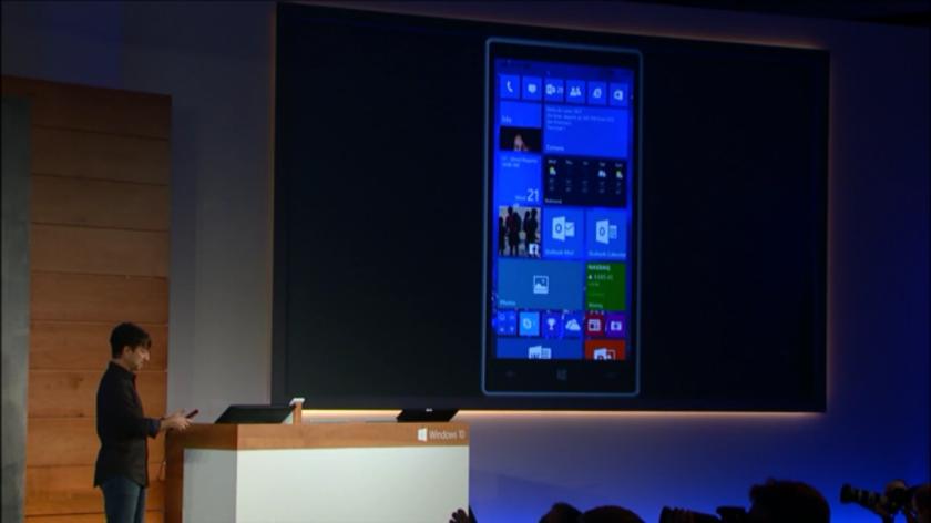 Windows 10 para móviles en acción Windows 10, Windows 10