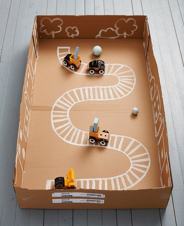 4 Brilliant Diy Toys Made Of Ikea Cardboard Boxes Kid Activities