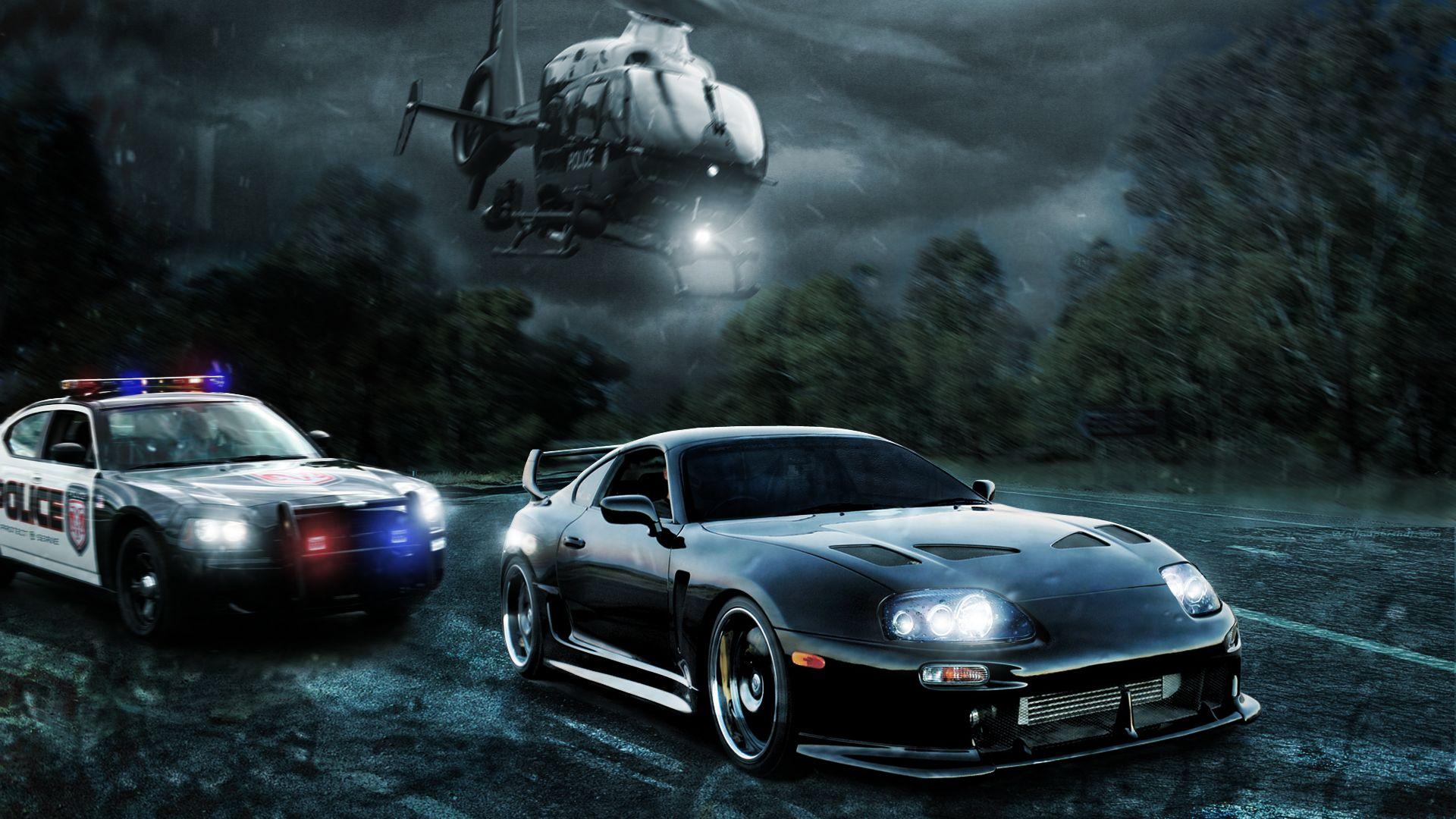 "Toyota Supra Turbo tuning Poster 24/""x 36/"""