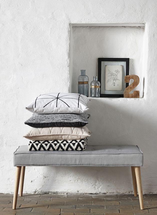 sitzbank im retrostil retro modern bench scandic style by myadele via living. Black Bedroom Furniture Sets. Home Design Ideas