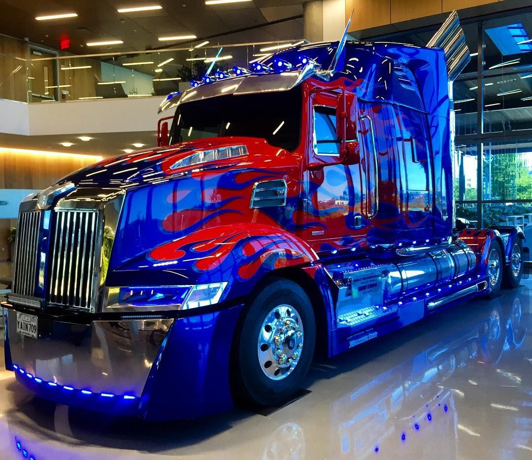 Optimusprime Transformers Trucks Nerdout Westernstar