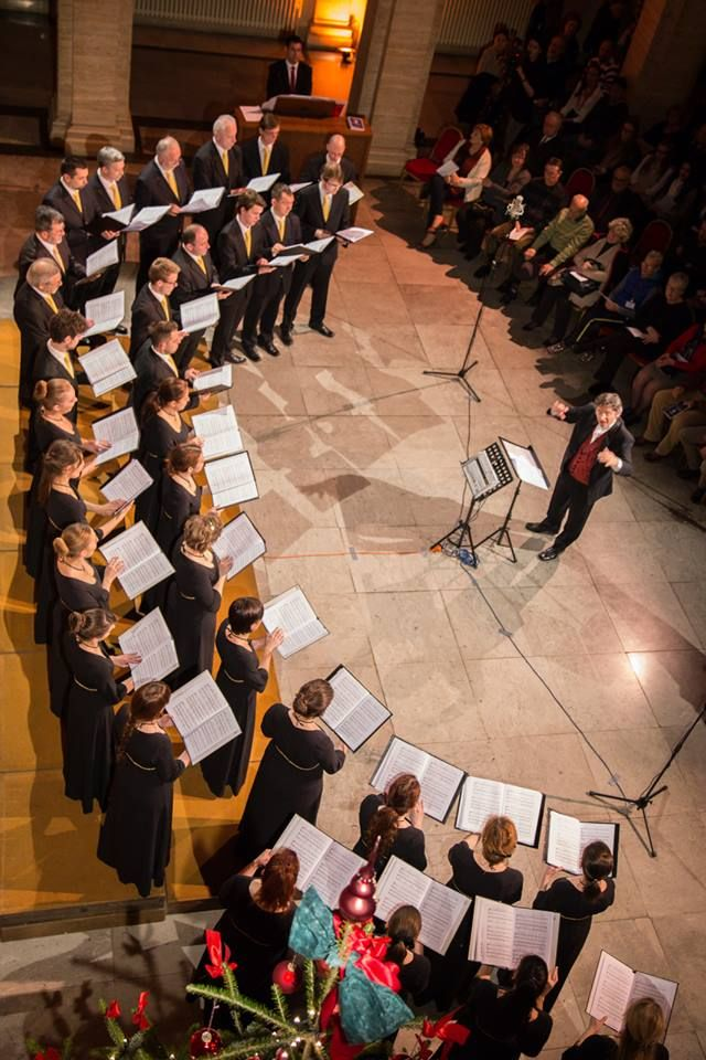 Chamber Choir Ivan Filipovic Kzif Christmas Concert At The Palace Of Arts And Science Hazu In Zagreb Croatia 2014 Christmas Concert Choir Zagreb