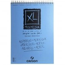 Canson Xl Mixed Media Paper Pad 300gsm 30 Sheets Lettering