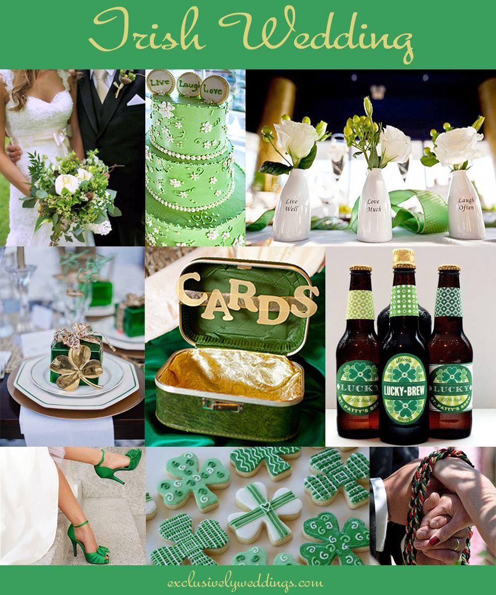 Irish Wedding Gifts From Ireland: Irish Wedding - St. Patrick's Day Wedding