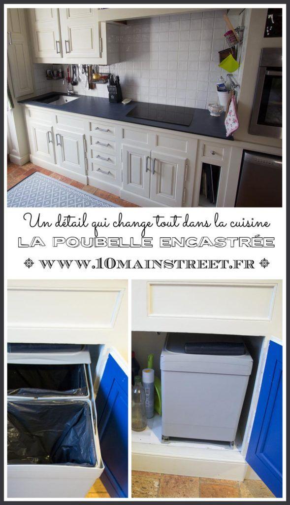 Un détail qui change tout dans la cuisine  la poubelle encastrée