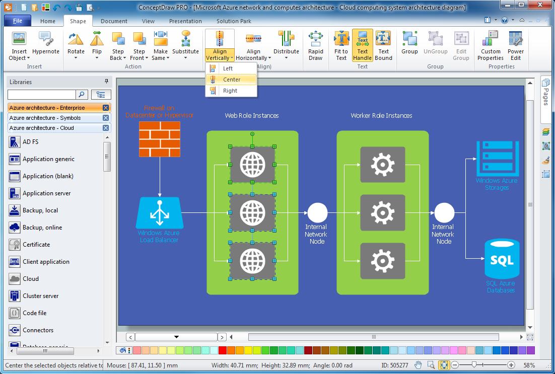 Azure Architecture Solution for Microsoft Windows Azure