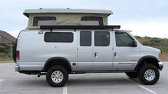 Sportsmobile Custom Camper Vans 2007 Ford Eb E350 Diesel 4x4