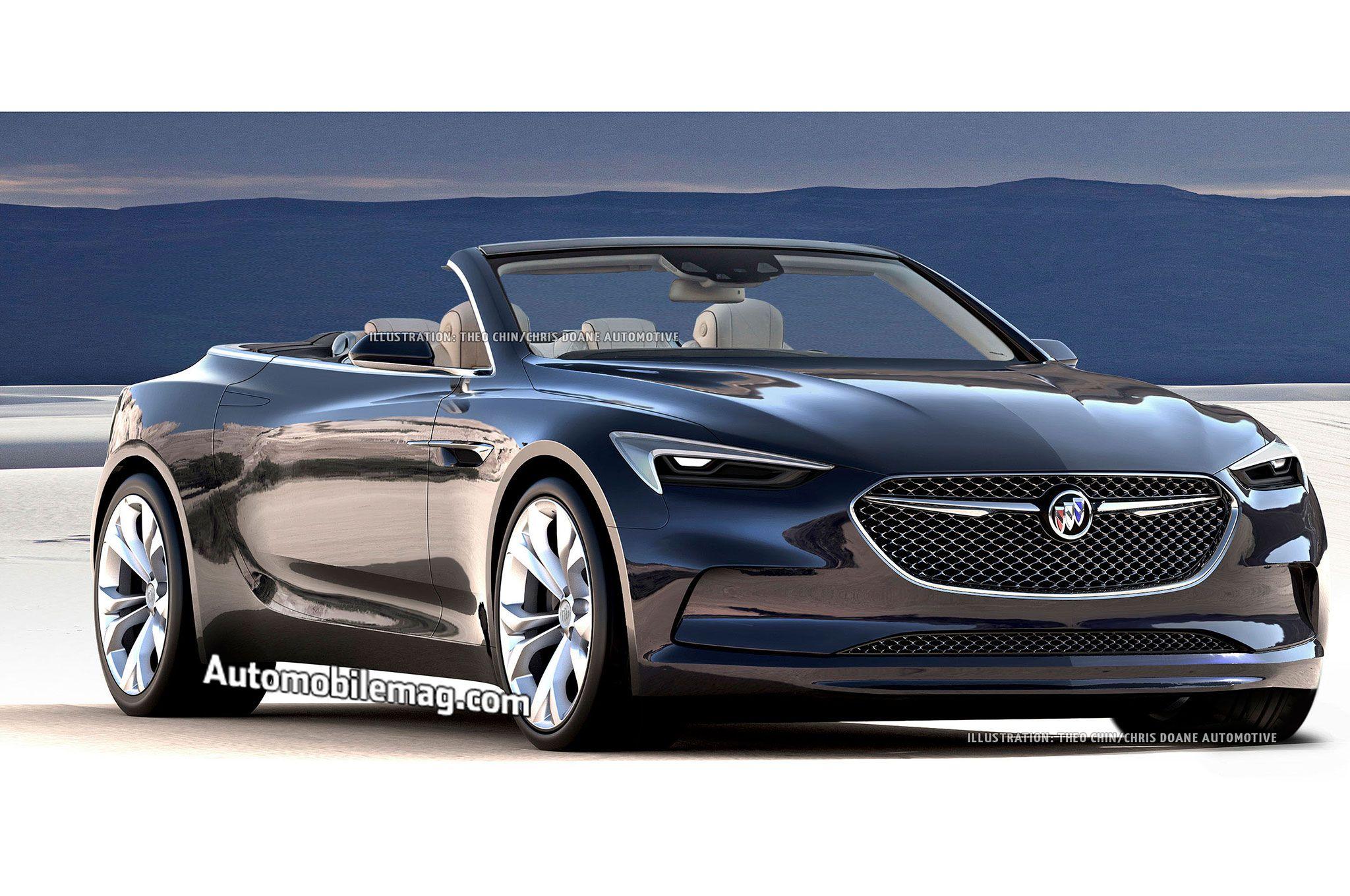 Would You Buy A Buick Avista Convertible Buick Avista Luxury Sedan Buick
