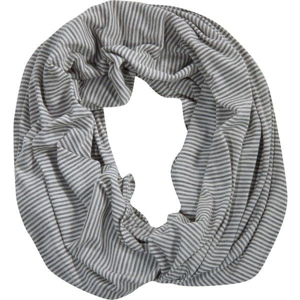 Ibex Dyad Infinity Scarf ($60) ❤ liked on Polyvore featuring accessories, scarves, white scarves, white infinity scarves, infinity scarves, tube scarves and infinity loop scarves